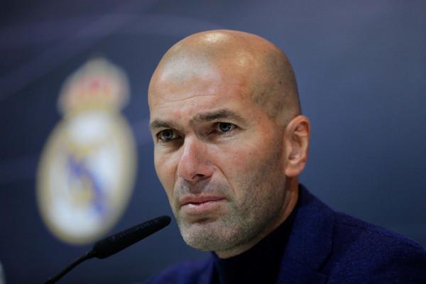 Zidane: O Realu vsi želijo govoriti, ker je največji klub v zgodovini