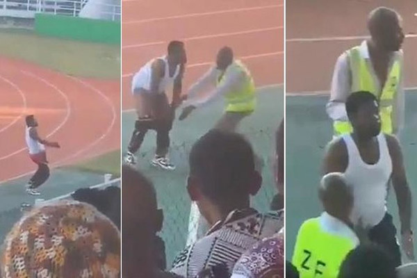 Video: Noro slavje trenerja z Zanzibarja za šestmesečni suspenz