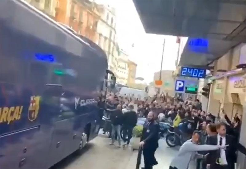 Video: Neapelj je Messija sprejel z navdušenjem