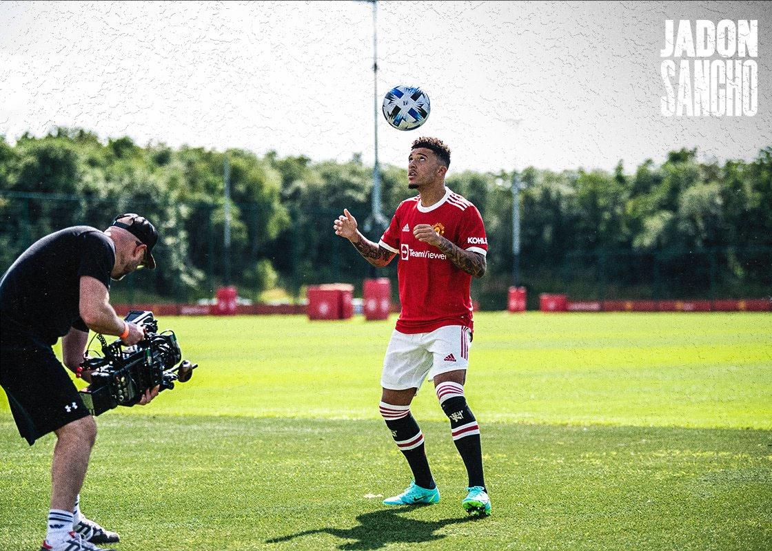 Manchester United je iz Jadona Sancha naredil drugega najdražjega Angleža vseh časov