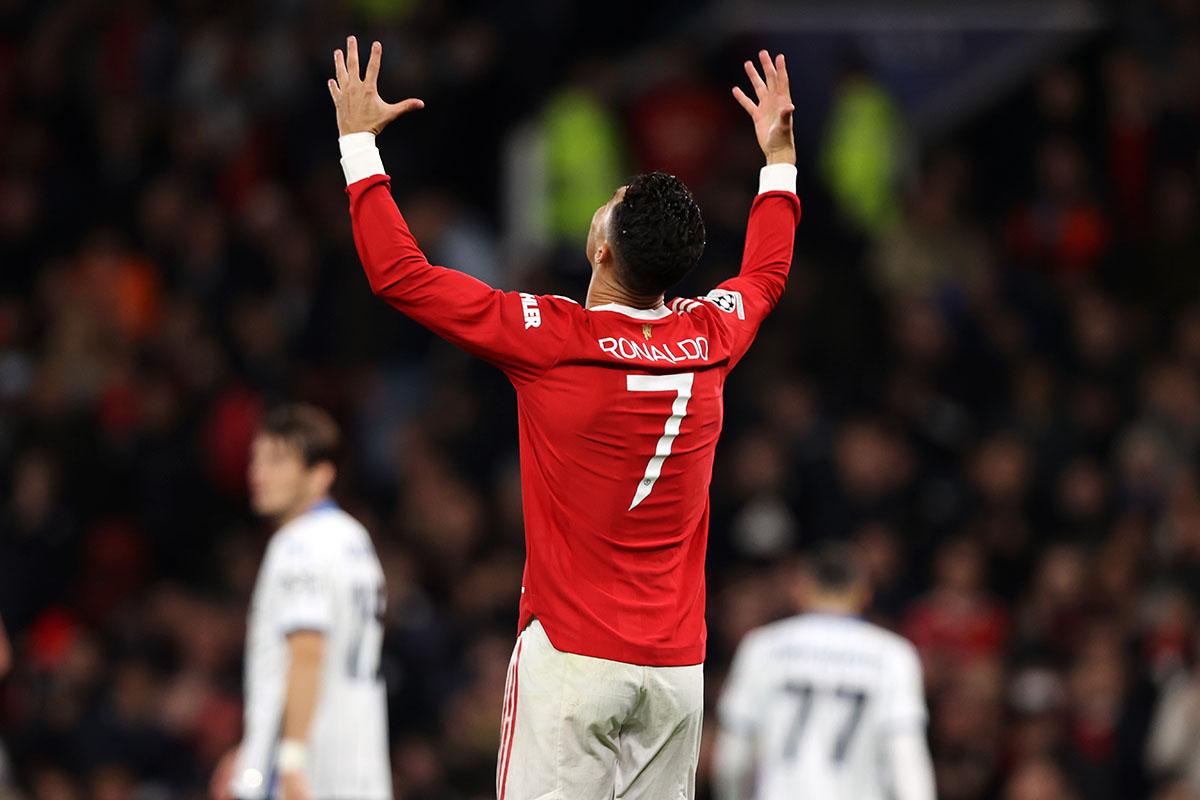 Če imaš Cristiana Ronalda, tudi dva gola zaostanka nista veliko: Preobrat Manchester Uniteda proti Atalanti